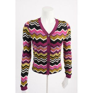 Missoni Target Womens Sweater XS Cardigan Chevron